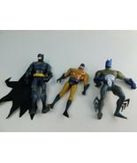 LOT OF 3 Vintage Batman 5 Inch Action Figures - $11.87