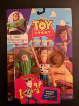 DISNEY 1995 Toy Story Action Figure Fighter Woody by Thinkway Toys New I... - $19.80