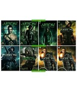 Arrow Complete Series Collection Season 1 2 3 4 5 6 7 8 DVD Set New Seal... - $77.00