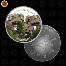 WR Wonders of Canada Habitat 67 Foreign Silver Coin Design Collectors Gi... - $7.41