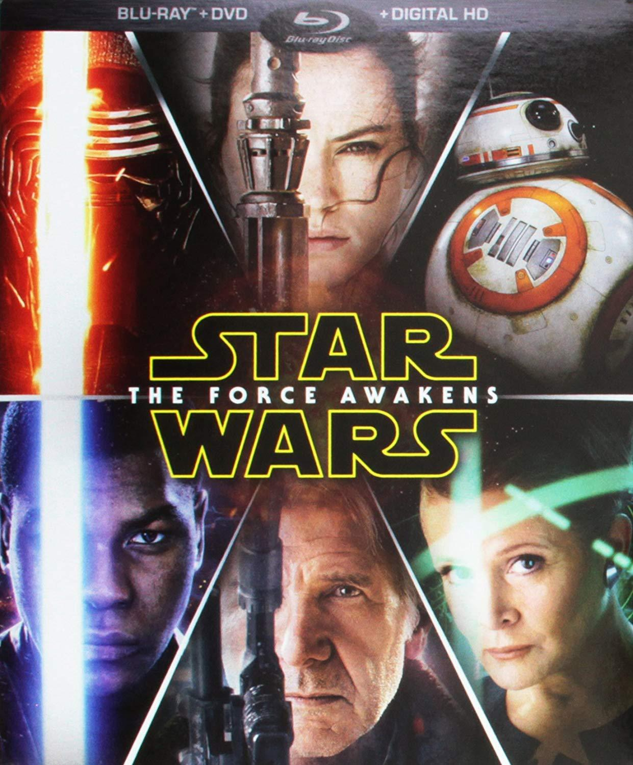 Star Wars The Force Awakens (Blu-ray + DVD + Digital) Target exclusive
