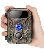 Victure Mini Trail Game Camera 16MP 1080P with Advanced Night Vision Mot... - $152.18