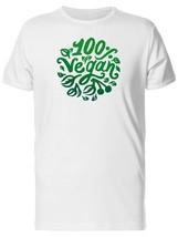 100% Vegan Green Doodles Men's Tee -Image by Shutterstock - $311,55 MXN+