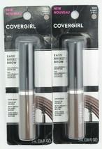 CoverGirl Easy Breezy Volumizing Brow Gel W/Biotin, Light Pale 105 *Twin... - $14.95