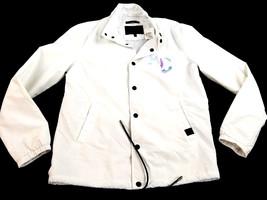 new SAKS FIFTH AVENUE men jacket Anthony Davis white size S MSRP $198 - $46.99