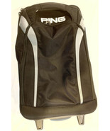 """Ping Rolling Airline Black Carry-On Suitcase Luggage 22"""" - $42.75"""