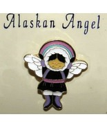Alaskan Eskimo Rainbow Angel (Souvenir Lapel Pin) - $8.79