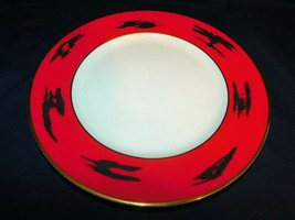 AA  Mikasa Fine China Negoria Red Designed by Bardi Round Platter 1986 - $16.79