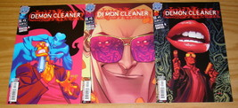 Demon Cleaner #1-3 VF/NM complete series - antarctic press horror comics set 2 - $9.25