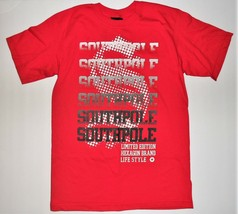 Southpole Boys Red T-Shirt Limited Edition Hexagon Brand Size 12/14 NWT - $17.45
