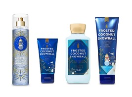 Bath & Body Works Frosted Coconut Snowball  Cream, Lotion, Mist, Travel Cream - $29.99