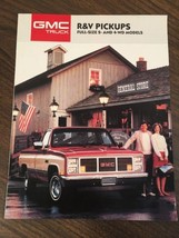 1987 GMC Pickup Truck Brochure Sierra Classic C... - $16.00