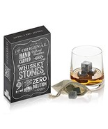 Modernhome The Original Hand Carved 100% Natural Soapstone Whiskey Stones - $8.78