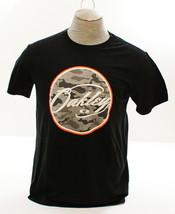 Oakley Signature Black Short Sleeve Tee T Shirt Men's Medium M NWT - $18.55