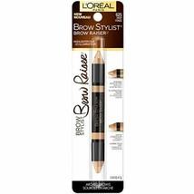 L'Oréal Paris Brow Stylist Brow Raiser Highlighter Duo, Medium, 0.16 oz. - $6.52