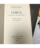 LORCA The Poet and His People Barea Arturo First Edition 1st Printing Bo... - $24.59