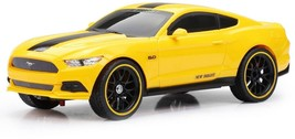 New Bright 1:16 Scale RC Chargers Radio Control Toy Car Mustang GT - Yellow - $28.61