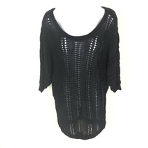 Express Women's Black Tunic Sweater Dress L - $19.79