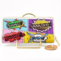 Heimish Atlantic Fashion Cartoon Comic Book Words Clutch Wallet New w Tags image 1
