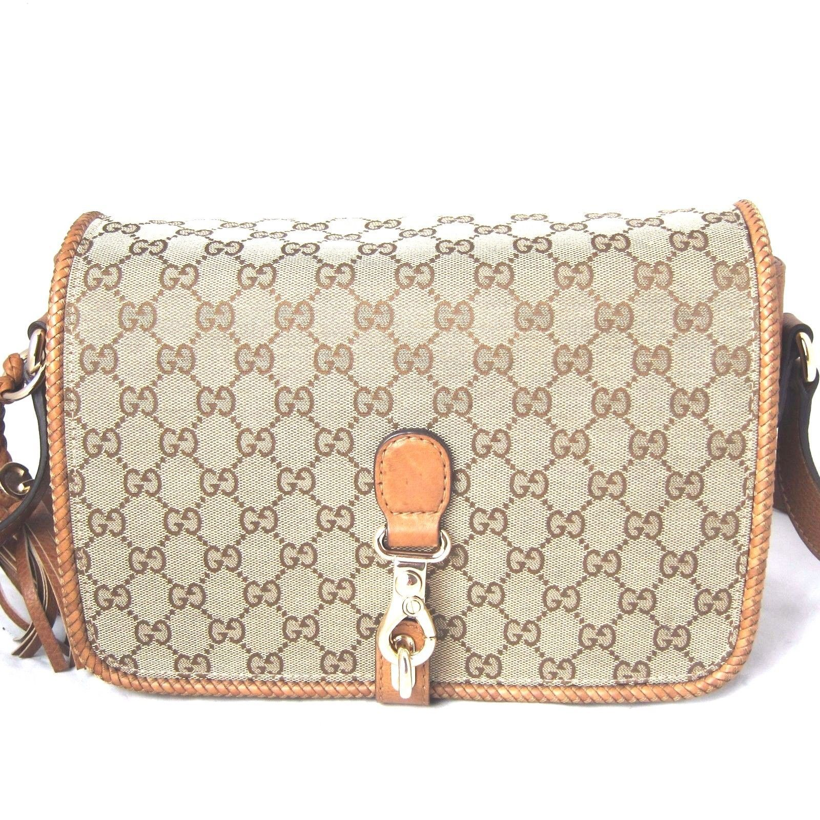 5339cad23870 K-GU1725 New Authentic Gucci Women Canvas and 50 similar items