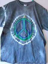 Ringed Arm XL Tie Dye Peace Sign T ShirtShips Free - $12.00