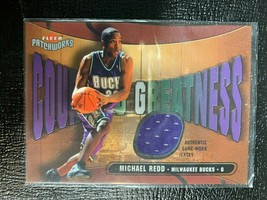 2003-04 Fleer Patchworks Courting Greatness Patches Michael Redd 185/350 - $24.74