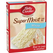 Betty Crocker Original Super Moist White Cake Mix - 16.25 oz. - $10.99