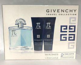 Givenchy Pi Neo Cologne 3.4 Oz Eau De Toilette Spray 3 Pcs Gift Set image 5