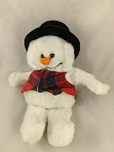 """Ganz Sammie Snowman Plush 11"""" 1995 NON-Working Stuffed Animal Toy - $9.70"""