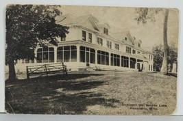 MN Dickinson Inn Geneva Lake Alexandria Minnesota 1926 to Red Wing Postc... - $7.95