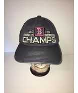 Official New Era 2018 Boston Red Sox World Series Champs Hat On Field ML... - $11.99
