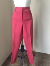 Ann Taylor Loft Marisa Skinny Capri Pants Coral Color Size 4P - $12.99