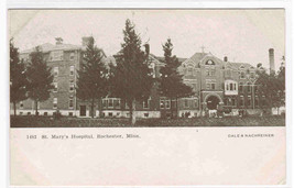 St Mary's Hospital Rochester Minnesota 1905c postcard - $6.24