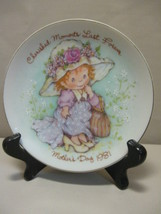 Cherished Moments Last Forever Mother's Day Plate Avon 1981 - $6.95
