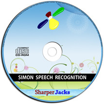 NEW & Fast Ship! Simon Voice Recognition Accessibility Dictaction Softwa... - $11.67