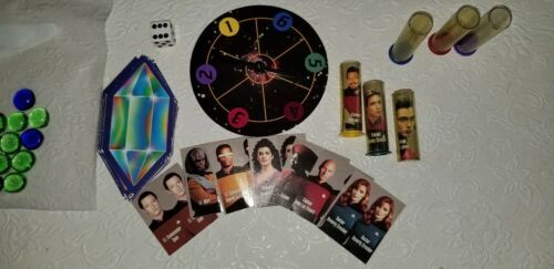 Vintage Star Trek The Next Generation Game Of The Galaxies  Board Game 1993