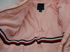 EUC Tommy Hilfiger Little Girls Hooded Puffer Jacket Size 5 Pink image 8