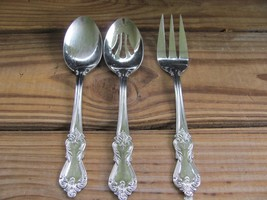 Reed & Barton~Heritage Mint~18/10 Stainless ~Serving Utensils~3 Piece Set - $29.02