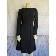 Giorgio Armani | Size 42 Vintage Wool Long Sleeve Dress $1195 - $331.65