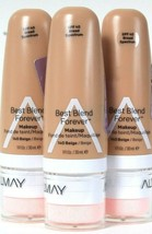3 Count Almay 1 Oz Best Blend Forever 140 Beige SPF 40 Broad Spectrum Ma... - $30.99