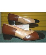 NIB ENNA JETTICKS PATCHES Brown Orthopedic Occupational Heels Size 7.5 EW - $29.69