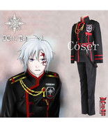 Anime D.Gray-man Allen Walker Role Cosplay Costume Halloween Costum - $107.00