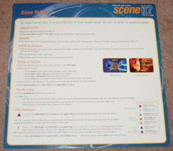 SCENE IT DVD GAME MOVIE EDITION GAME 2004 SCREENLIFE LIGHTLY PLAYED CONDITION image 4