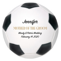 Mother of the Groom Regulation Soccer Ball Gift - Personalized Wedding F... - $59.95