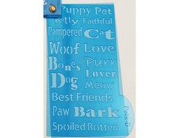 DecoArt Laurie Speltz's Instant Images Pocket Template Tools, Pets #IIP07 image 6