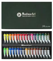 Montmar Art Special Artists Water Color 15ml 34 Colors Set