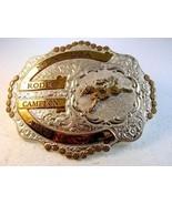 Viintage Mex USA Rodeo Campeon Arus Nov 1993 Gürtelschnalle von Crumrine - $161.37