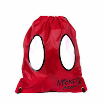 Mickey Mouse Shorts Drawstring Bag Red - $14.98