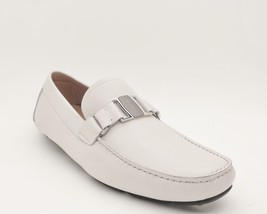 Shoes Loafers Leather Sardegna Size 11 White Ferragamo NIB Salvatore tqUAc5yc