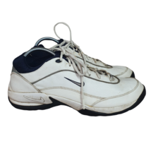 Nike Air Challenge Golf Shoes Mens 11 Leather Cleats White 183911-141 - $39.59